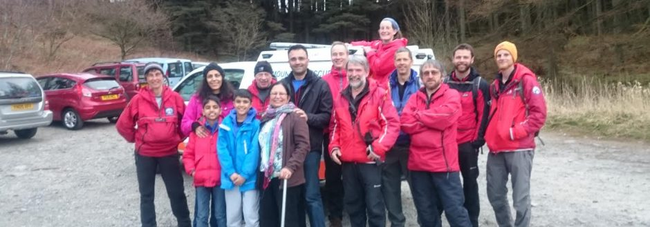 2016 Incident #12 – 22 March 14:30 hrs – Missing person on Gummers How