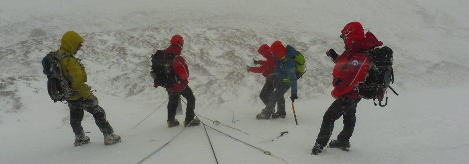 Scotland winter training