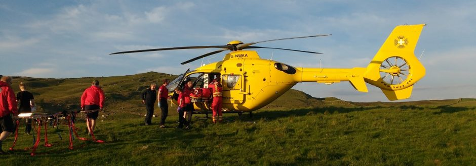 2016 Incident #18 – 30 May 2016 18:00 hrs – Fainting at Potter Tarn