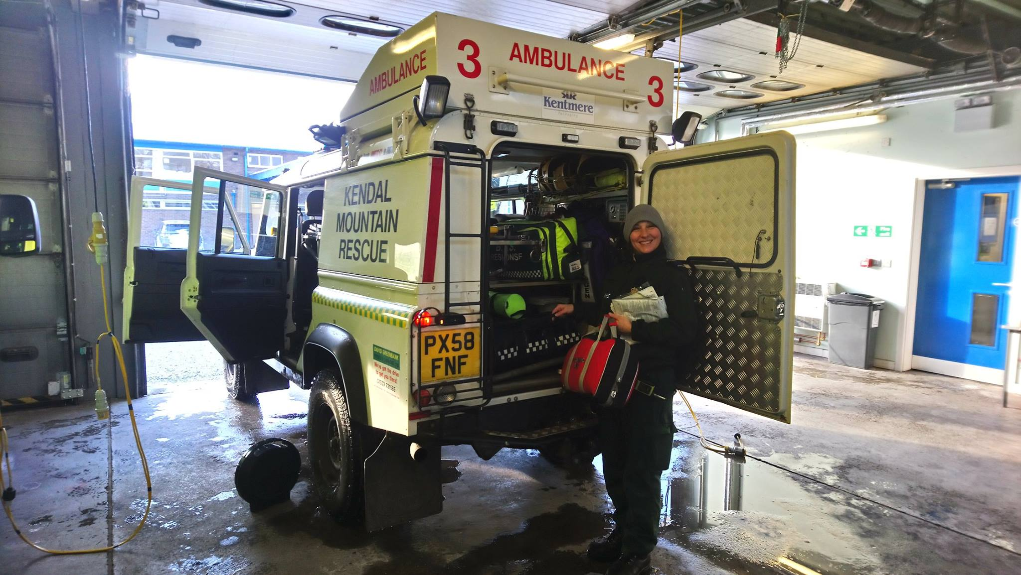 2018 Incident #10: 28 February – Lending a 4×4 to NWAS to Help With Snow