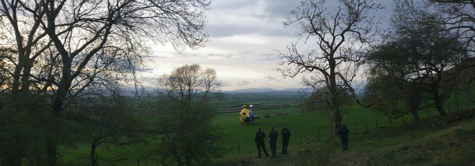2018 Incident #26: 27th April 18:10 – Mountain Biker, Farleton