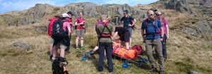 2018 Incident #28: 7th May 13:15 – Ankle Injury, Kentmere