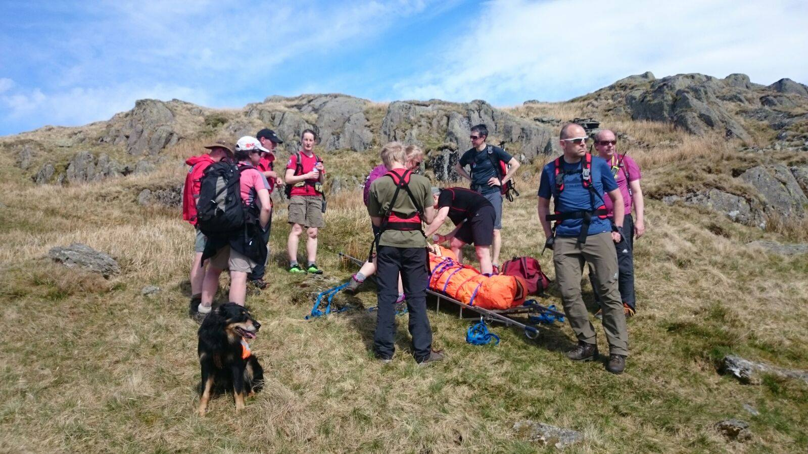 2018 Incident #29: 7th May 13:15 – Ankle Injury, Kentmere