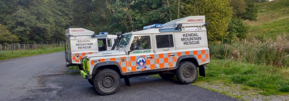 2018 Incident #48: 25th August 15:54 – Dislocated Hip, Borrowdale