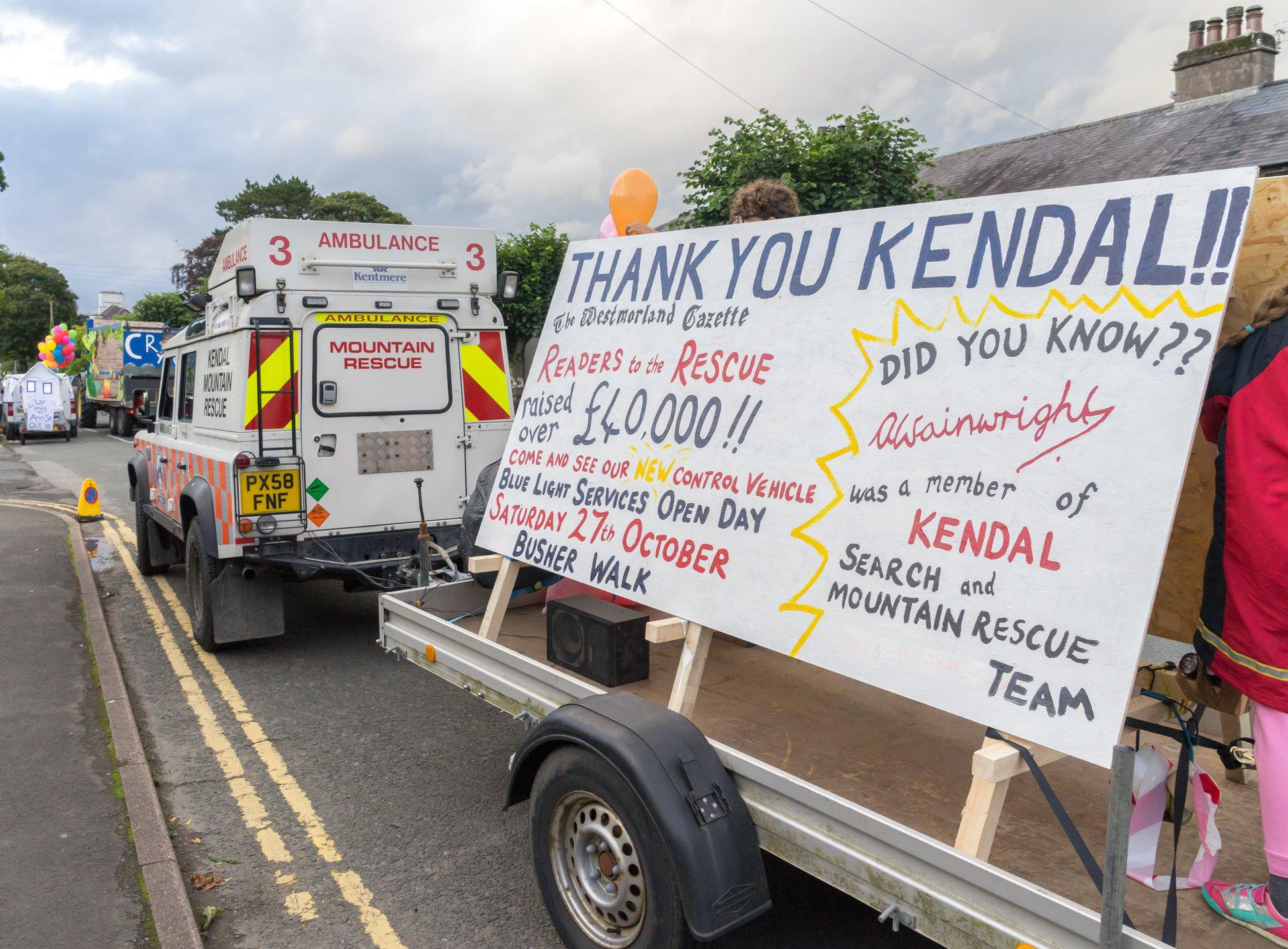 Kendal Torchlight Parade