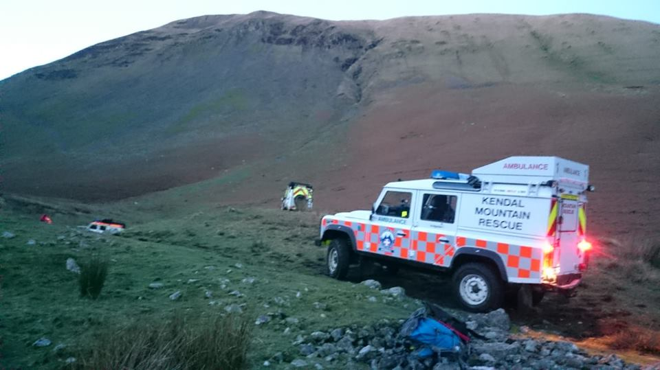 2018 Incident #63: 24th December 13:30 – Cautley Spout