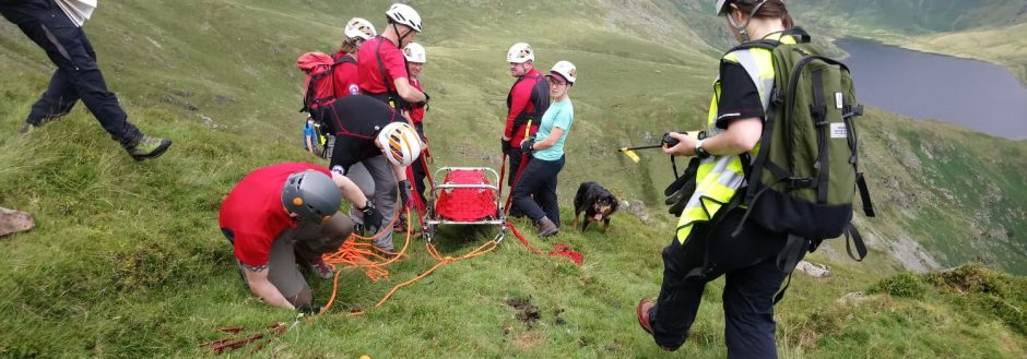 July Training – Steep Ground