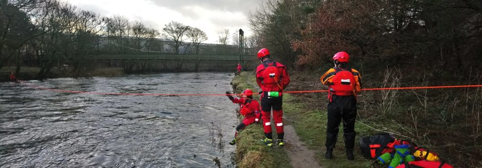 Swift Water Rescue Practice