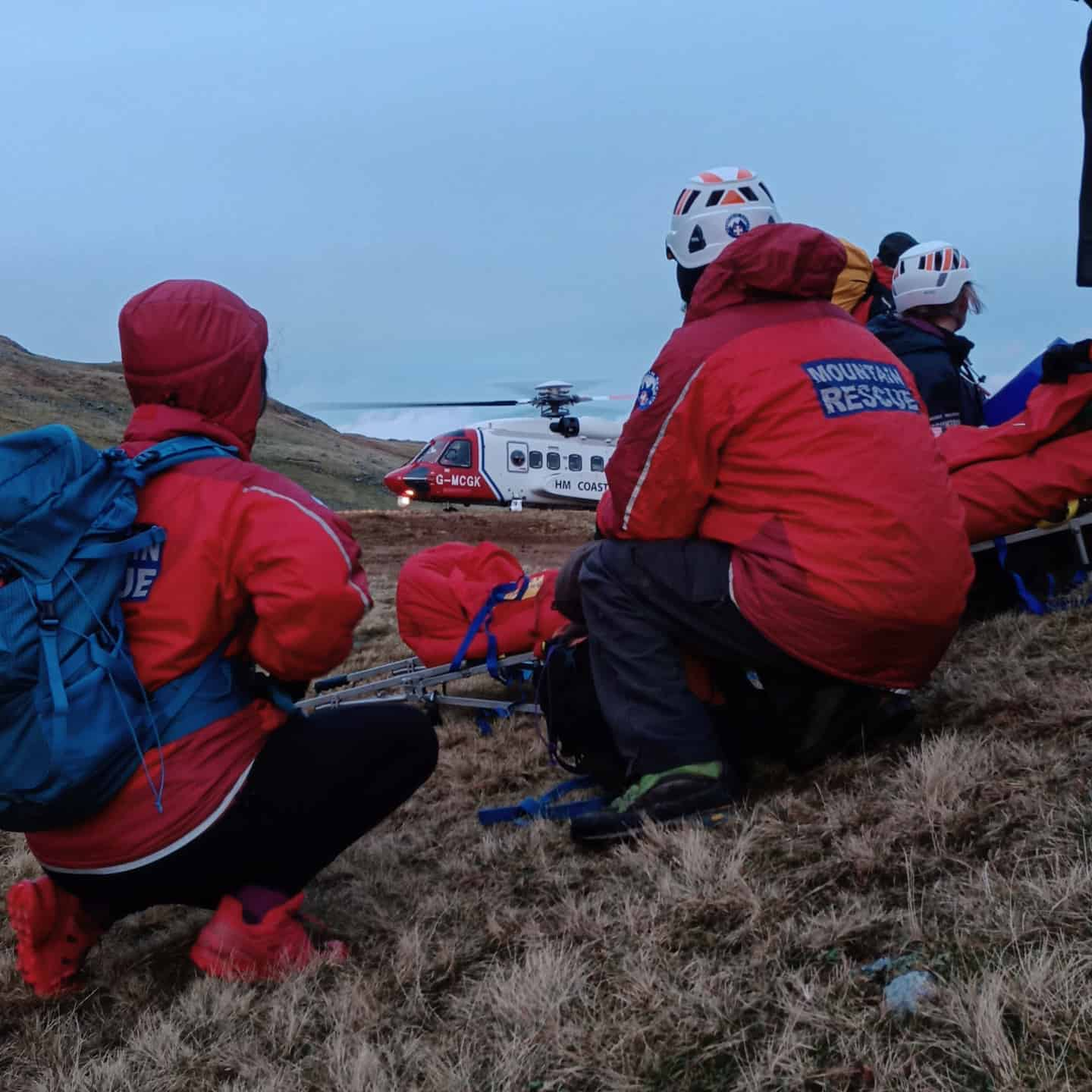 2020 Incident #1: 18th January 13:33 – Harrison Stickle